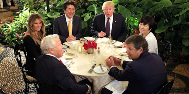 ¿Akie Abe fingió no hablar inglés para evitar a Donald Trump?
