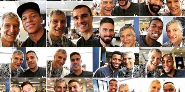 Coupe du Monde 2018: Trouverez-vous les seuls Bleus avec qui Nagui n'a pas fait de selfie?