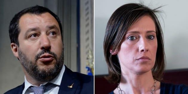 """Salvini replica a Ilaria Cucchi: """"I leghisti non sono v"""