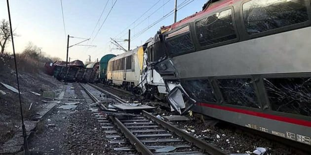 Two trains have been involved in a head-on collision in southern Luxembourg.