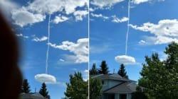Ce nuage bizarre en Alberta a inspiré les théories les plus