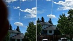 Ce nuage bizarre au Canada a inspiré les théories les plus