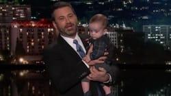 Jimmy Kimmel, très ému, défend la sécurité sociale avec son enfant malade dans les