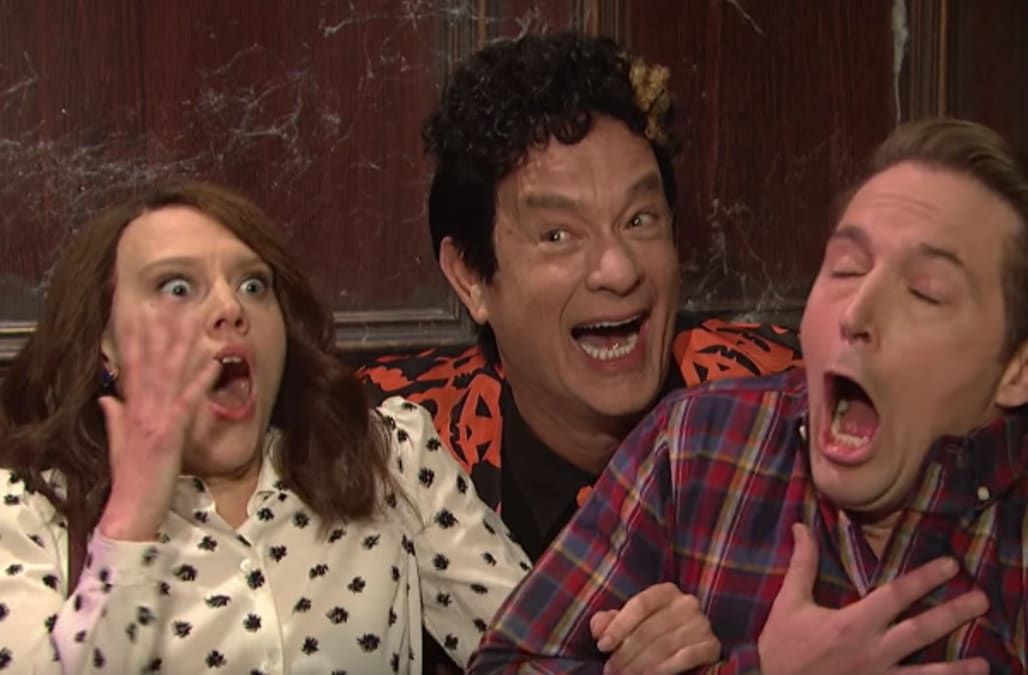 004a3bac You can now buy Tom Hanks' David S. Pumpkins suit from 'Saturday Night Live'