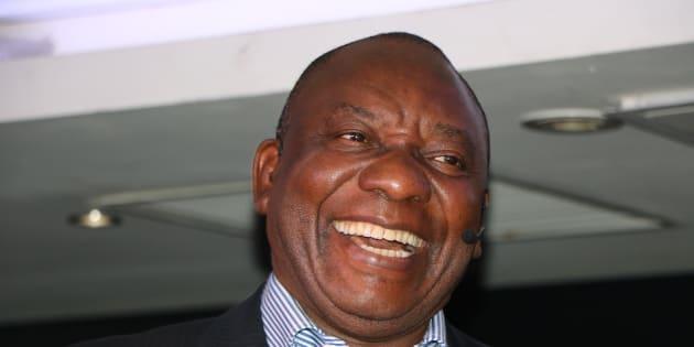 Current deputy president, Cyril Ramaphosa.