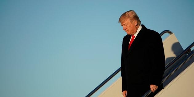 """Trump voulait """"un bon shutdown"""". Maintenant que la menace se précise, il a changé d'avis..."""