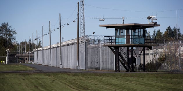 The Matsqui Institution, a medium-security federal men's prison, is seen in Abbotsford, B.C., on Thursday October 26, 2017.