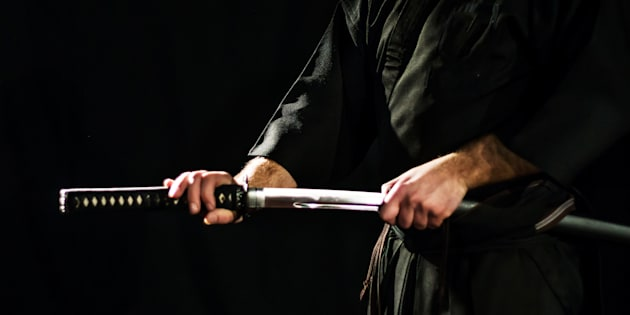 Tre morti con la spada samurai