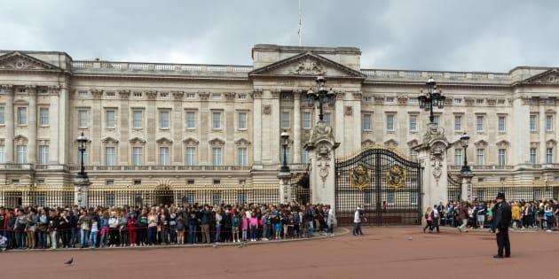 London, England - June 17, 2016: Buckingham Palace London, England, Great Britain