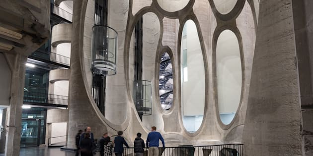 The 10,000 square meter, R500m Zeitz MOCAA museum opened to the press on Friday, September 15.