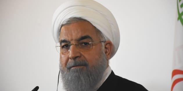 """L'Iran accuse les États-Unis de vouloir déclencher """"une guerre psychologique"""" avec leurs sanctions."""