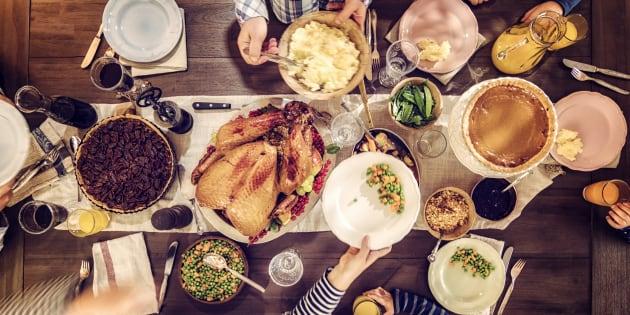 J'aime la Thanksgiving, car c'est aussi célébré par toutes les religions aux États-Unis.