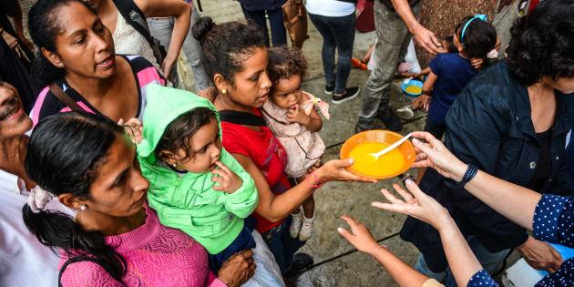 1 a cada 4 pessoas que passam fome no mundo é criança