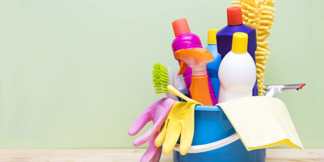 Not all cleaning products can cause chemical burns.