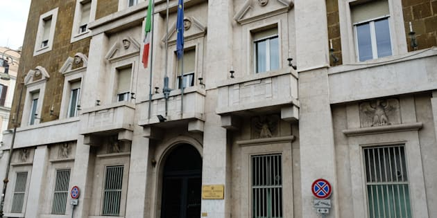 Rome, Italy - September 2, 2017: Consiglio Superiore della Magistratura building exterior. CSM is the magistrates' internal board of supervisors, the High Council of the Judiciary