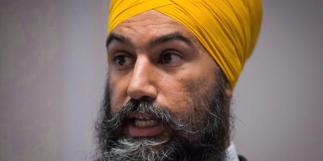 Le chef néo-démocrate, Jagmeet Singh.