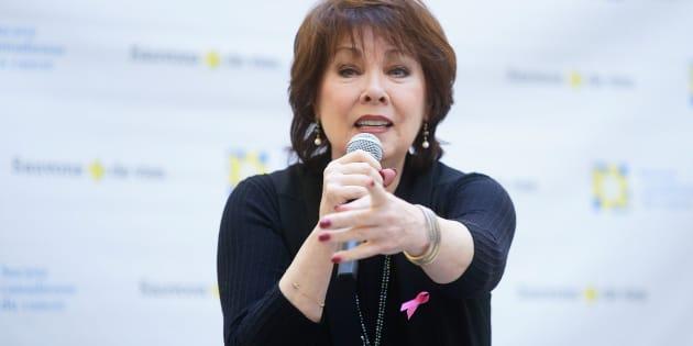 La chanteuse Nicole Martin en 2017.