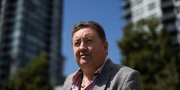 Former neo-Nazi Tony McAleer poses for a photograph in Vancouver on Aug. 17, 2017. McAleer is the executive director of Life After Hate, an organization that provides support and counselling to white supremacists who want a way out.
