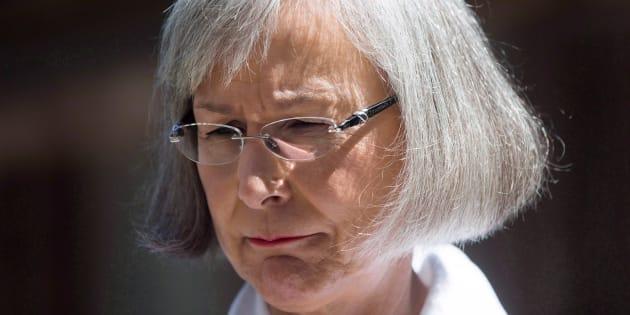 La commissaire en chef de la commission Marion Buller