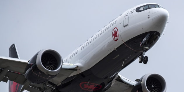 Un modèle de Boeing 737 Max utilisé par Air Canada (photo d'illustration).