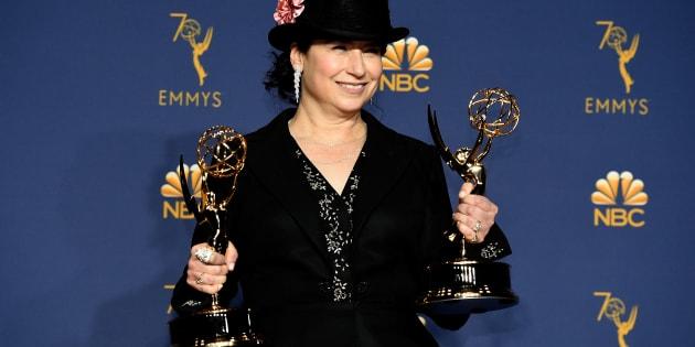 Amy Sherman-Palladino, criadora da série 'The Marvelous Mrs. Maisel'.