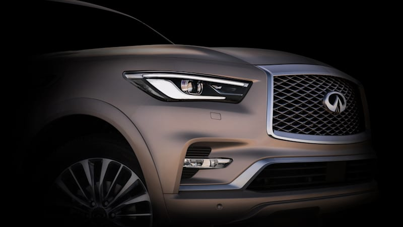 Production Infiniti QX80 will be revealed at Dubai auto show