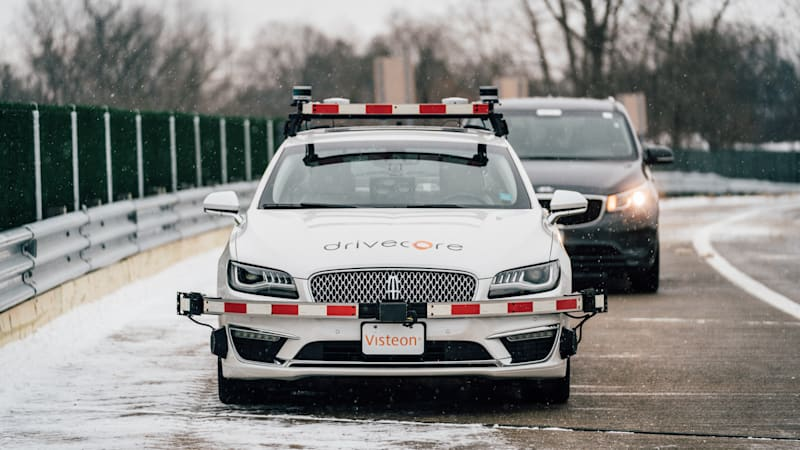 New autonomous testing ground in Michigan will help battle bad weather