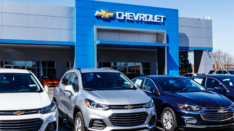 Gm ford fca report strong sales in june autoblog for Chevrolet division of general motors