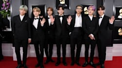 BTS Grooving To Dolly Parton At The Grammys Wins For Cutest