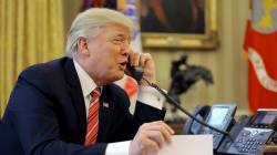 Según Trump, esto fue lo que sucedió en la llamada con Enrique Peña