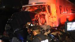 Empresa transportista que ocasionó la carambola en la México-Toluca transportó material