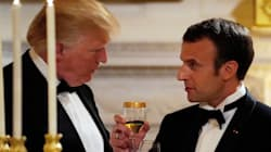Trump informa a Macron que EU se retirará de acuerdo nuclear con