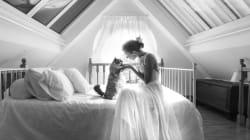 Ces photos de jeunes mariés avec leur chat sont à ronronner de