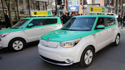 Téo Taxi veut 15 000$ par véhicule