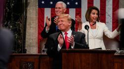 Un comedido Trump anuncia su segunda cumbre con Kim Jong-un, saca pecho con la economía y se apalanca con el