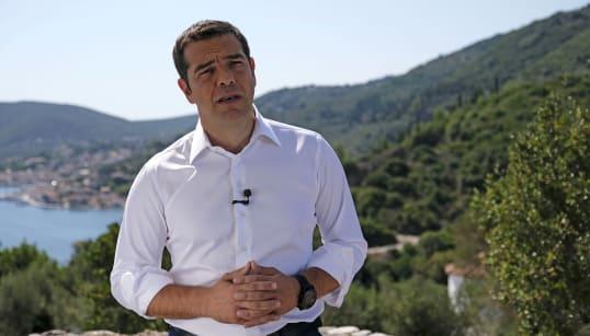 En Grèce, Tsipras choisit un lieu hautement symbolique de la mythologie pour parler de la sortie des plans