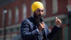 En tournée au Québec, Jagmeet Singh vante sa défense de