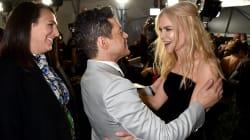 Y el abrazo entre Rami Malek y Nicole Kidman