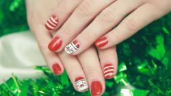 ¡Santa Claus en las uñas! Porque la Navidad es para