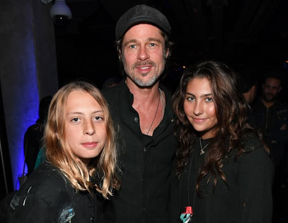 Brad Pitt's rare outing for Chris Cornell tribute