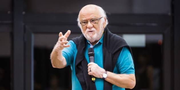 Danilo Santos de Miranda, diretor regional do Sesc São Paulo, durante o festival Mirada 2018.
