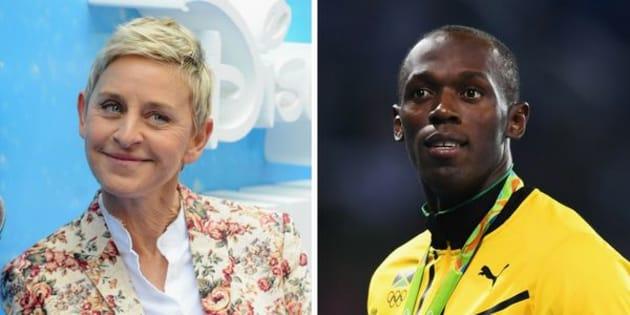 Ellen DeGeneres responded to backlash on Tuesday after her Usain Bolt joke totally bombed.