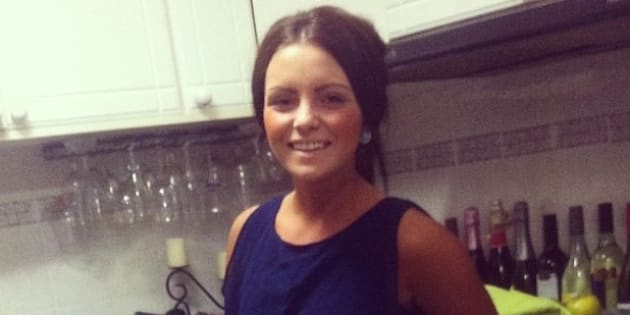 Nicole Evans, 20, has suffered severe burns to more than 50 per cent of her body, including her face.