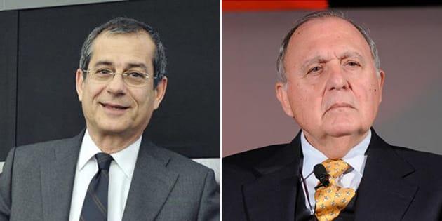 Giovanni Tria ministro dell'Economia, con Paolo Savona agli Affari Ue