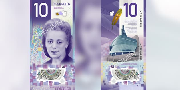 Image result for new $10 cad bill woman