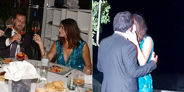 Elisa Isoardi, spacco da capogiro per lady Salvini a Venezia