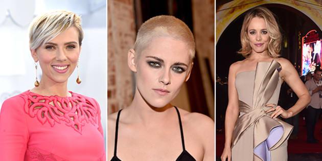 Scarlett Johannson e altre star hanno deciso di tagliarsi i capelli corti  è  una mossa contro Melania Trump. Un taglio di capelli