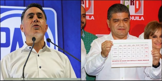 El PREP da como virtual triunfador al PRI en Coahuila