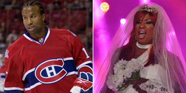 Georges Laraque, best known for being a former NHL enforcer, won a drag queen competition at Montreal Pride on Friday.