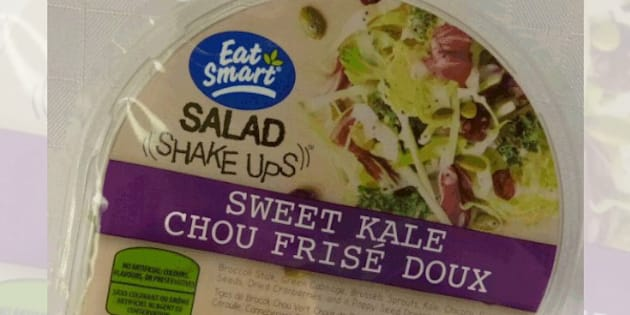 Salad Shake Ups- sweet kale salad has been recalled due to a possible listeria contamination.